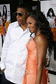 HOLLYWOOD - JULY 25: Nelly and Ashanti at the premiere of John Tucker Must Die on July 25, 2006 at Grauman's Chinese Theatre in Hollywood, CA.