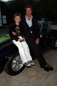 MALIBU, CA - AUGUST 05: Dean McDermott and son Jack Montgomery at