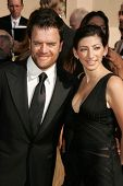 LOS ANGELES - AUGUST 19: Kevin Weisman and wife Jodi at the 58th Annual Creative Arts Emmy Awards on August 19, 2006 at Shrine Auditorium in Los Angeles, CA.