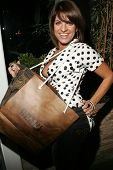 WEST HOLLYWOOD - AUGUST 24: Bridgetta Tomarchio at the Antik Denim Pre-Emmy Gift Experience on Augus