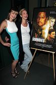 Rena Riffel, Ashley Scott at the premiere pf