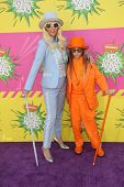 Kesha and her brother Louie Sebert at Nickelodeon's 26th Annual Kids' Choice Awards, USC Galen Cente