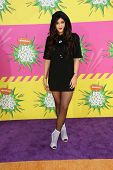 Kylie Jenner at Nickelodeon's 26th Annual Kids' Choice Awards, USC Galen Center, Los Angeles, CA 03-23-13