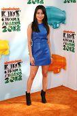 Miranda Cosgrove at the 2012 Nickelodeon Kids' Choice Awards, Galen Center,  Los Angeles, CA 03-31-12