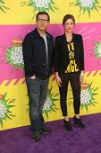 Steve Carell, Kristen Wiig at Nickelodeon's 26th Annual Kids' Choice Awards, USC Galen Center, Los A