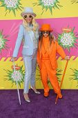 Kesha and her brother Louie Sebert  at Nickelodeon's 26th Annual Kids' Choice Awards, USC Galen Cent