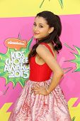 Ariana Grande at Nickelodeon's 26th Annual Kids' Choice Awards, USC Galen Center, Los Angeles, CA 03