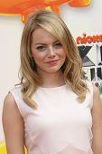 Emma Stone at the 2012 Nickelodeon Kids' Choice Awards, Galen Center,  Los Angeles, CA 03-31-12