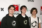 HOLLYWOOD - AUGUST 02: Phantom Planet at Saturn's X-Games 12 Party at 6820 Hollywood Blvd on August