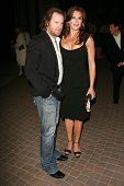 HOLLYWOOD - AUGUST 25: Chris Henchy and Brooke Shields at the