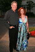HOLLYWOOD - AUGUST 25: Bruce Boxleitner and Melissa Gilbert at the