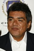 BURBANK - AUGUST 22: George Lopez at the press conference announcing George Lopez as the spokesperso