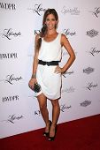 BEVERLY HILLS - SEPTEMBER 27: Lydia McLaughlin at the Beverly Hills Magazine Fall Launch Party at Ky