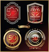 Anniversary red label, set