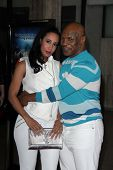 Mike Tyson and wife at the