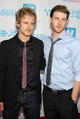 HOLLYWOOD - APRIL 30: Ben Foster and Jon Foster at Movieline's Hollywood Life 8th Annual Young Holly