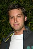 LOS ANGELES - APRIL 24: Lance Bass at the Brandon Davis and Replay celebrate store opening and the launch of The Brandon Davis Jean at Falcon on April 24, 2006 in Los Angeles, CA.