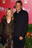 HOLLYWOOD - APRIL 26: Tony Hawk and wife Lhotse Merriam at the US Weekly Hot Hollywood Awards at Rep