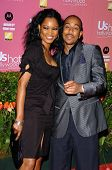 HOLLYWOOD - APRIL 26: Garcelle Beauvais and Ludacris at the US Weekly Hot Hollywood Awards at Republ