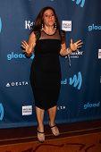 Marissa Jaret Winokur at the 24th Annual GLAAD Media Awards, JW Marriott, Los Angeles, CA 04-20-13