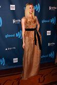 Elle Fanning at the 24th Annual GLAAD Media Awards, JW Marriott, Los Angeles, CA 04-20-13