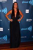 Kyle Richards at the 24th Annual GLAAD Media Awards, JW Marriott, Los Angeles, CA 04-20-13