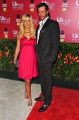 HOLLYWOOD - APRIL 26: Tori Spelling and Dean McDermott at the US Weekly Hot Hollywood Awards at Repu