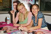 HOLLYWOOD - APRIL 29: Samaire Armstrong and Bree Turner at an in store appearance to promote their new movie