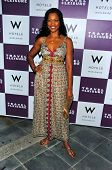 WESTWOOD - APRIL 19: Garcelle Beauvais at the 35th Birthday Celebration for Travel and Leisure Magaz