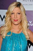 WESTWOOD - APRIL 19: Tori Spelling at the 35th Birthday Celebration for Travel and Leisure Magazine in W Hotel on April 19, 2006 in Westwood, CA.