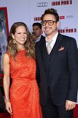 Robert Downey Jr. and wife Susan Downey at the