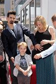 Kevin Richardson with family at the