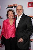 Jessica Walter and Jeffrey Tambor at the