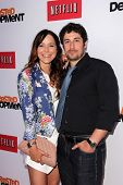 Jenny Mollen and Jason Biggs at the