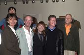 Sarah Douglas, Marc McClure, Margot Kidder, Jeff East, Tom Mankiewicz at presentation by Warner Home