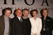 Ralph Fiennes, Sir Ben Kingsley, Steven Spielberg, Embeth Davidtz and Caroline Goodall at the Legacy