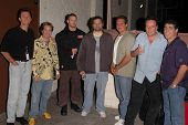 Michael Sponberg, K.C. Armstrong, Artie Lange, Nick Di Paolo, Reverend Bob Levy and Gary Dell'Abate