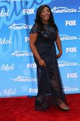 Candice Glover at the American Idol Season 12 Finale Arrivals, Nokia Theater, Los Angeles, CA 05-16-