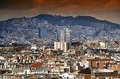 Espanya Square Barcelona poster