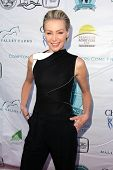 Portia de Rossi at the Compton Jr, Posse Gala honoring Patricia Heaton and Portia de Rossi, Burbank Equestrian Center, Burbank, CA 05-18-13