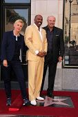 Ellen DeGeneres, Steve Harvey, Phil McGraw at the Steve Harvey Star on the Hollywood Walk of Fame, Hollyood, CA 05-13-13
