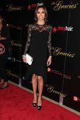 Giuliana Rancic at the 2013 Gracie Awards Gala, Beverly Hilton Hotel, Beverly Hills, CA 05-21-13