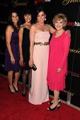 Lana Parilla, Mother, aunt Candice Azzara, Niece at the 2013 Gracie Awards Gala, Beverly Hilton Hote