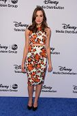 Christa B. Allen at the Disney Media Networks International Upfronts, Walt Disney Studios, Burbank, CA 05-19-13