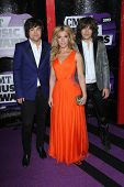 Reid Perry, Kimberly Perry, Neil Perry at the 2013 CMT Music Awards, Bridgestone Arena, Nashville, T