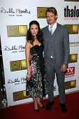 Abigail Spencer and Josh Pence at the 3rd Annual Critics' Choice Television Awards, Beverly Hilton H