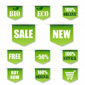Green Sales, Bio, Organic Label