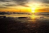 Sunrise Swash Sand Seaside