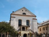 picture of synagogue  - View of Izaak Synagogue in Krakow in Poland - JPG