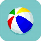 beach ball icon